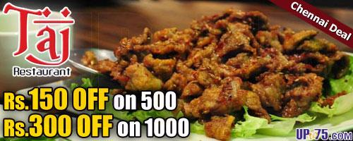 Taj Restaurant offers India