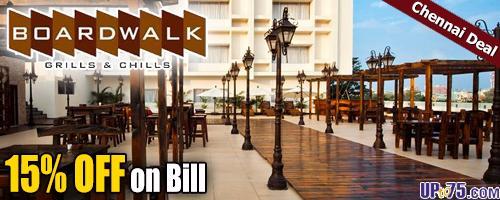 Board Walk offers India