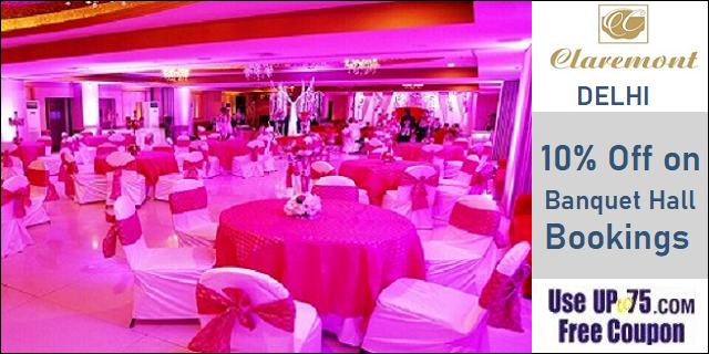 The Claremont Hotel and Convention Centre offers India