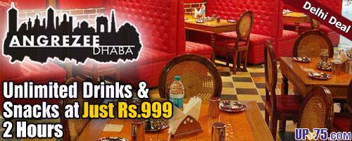 Angrezee Dhaba offers India