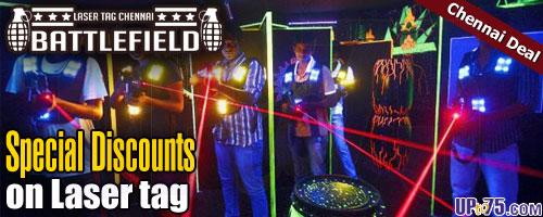 Laser Tag Chennai offers India