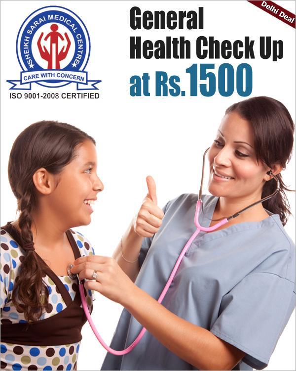 Sheikh Sarai Medical Centre offers India