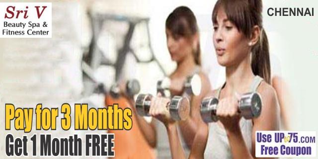 Sri V Beauty Spa and Fitness Center offers India