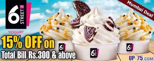 6th Street Yogurt offers India