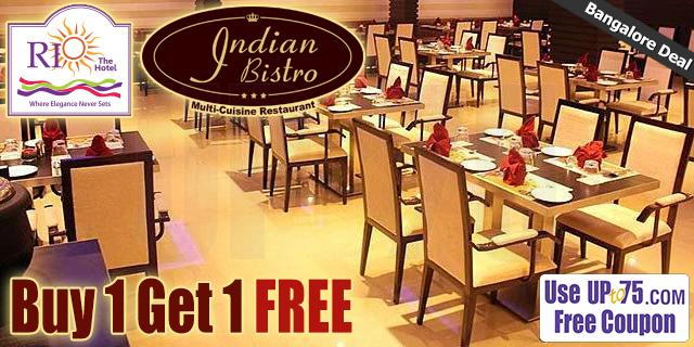 Indian Bistro offers India