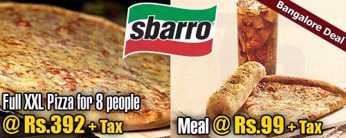 Sbarro offers India