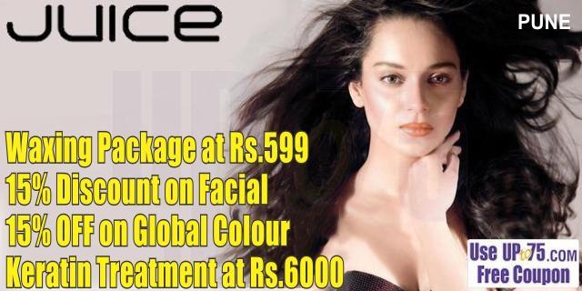 Juice Salon offers India