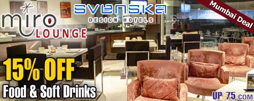 Miro Lounge offers India