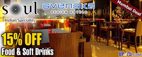 Soul Sky Lounge offers India