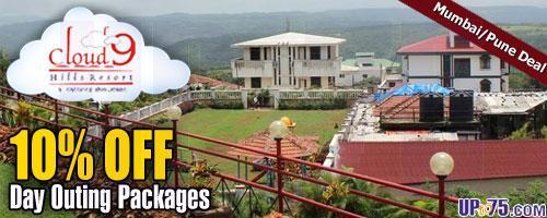 Cloud9 Hills Resort offers India