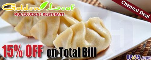Golden Leaf Restaurant offers India