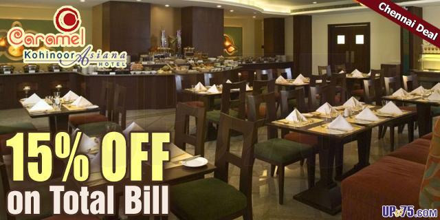 Caramel Restaurant offers India