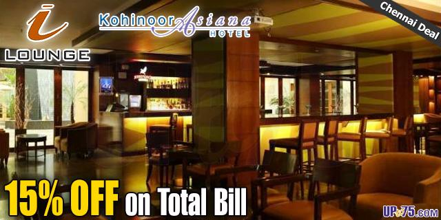 I Lounge at Kohinoor Asiana Hotel offers India