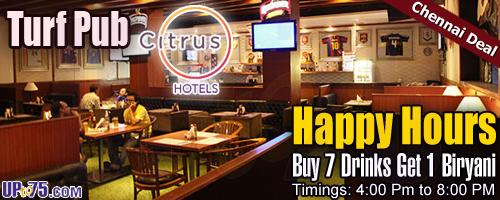 Turf Pub at Citrus Hotels offers India