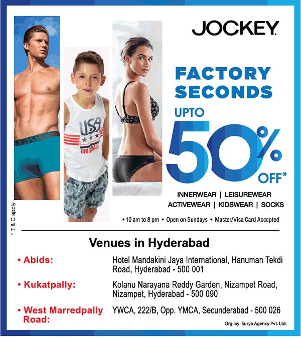 Jockey offers India