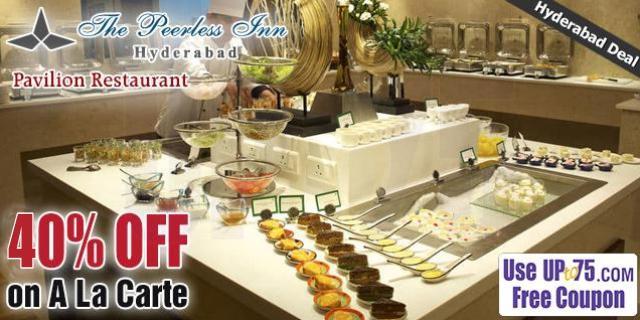 Pavilion Restaurant offers India