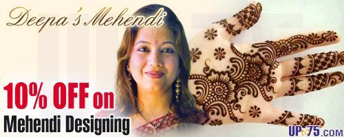 Deepas Mehendi offers India