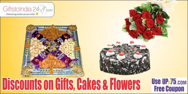 Gifts to India 24x7 offers India