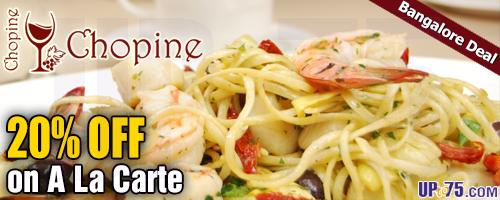 Chopine offers India