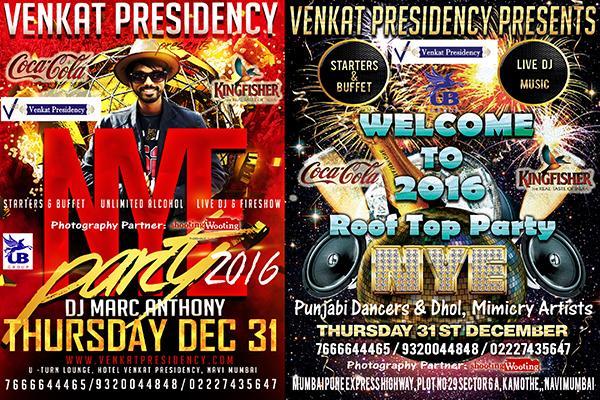Venkat Presidency offers India