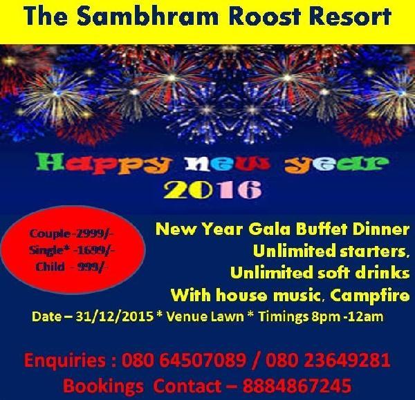 Sambhram Roost Resort offers India