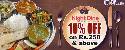 Night Dine offers India