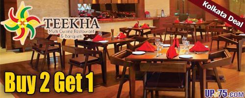Teekha Restaurant offers India