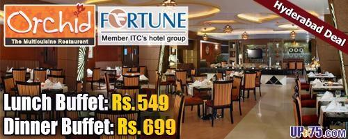 Orchid Restaurant at Fortune Park Vallabha offers India