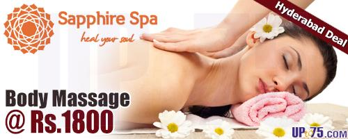 Sapphire Spa offers India