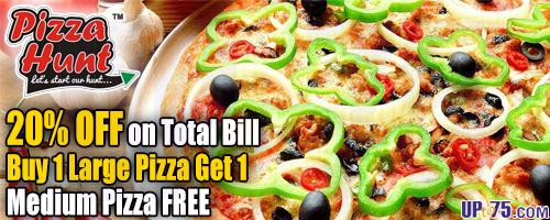 Pizza Hunt offers India