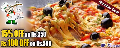 The Pizza Farm offers India