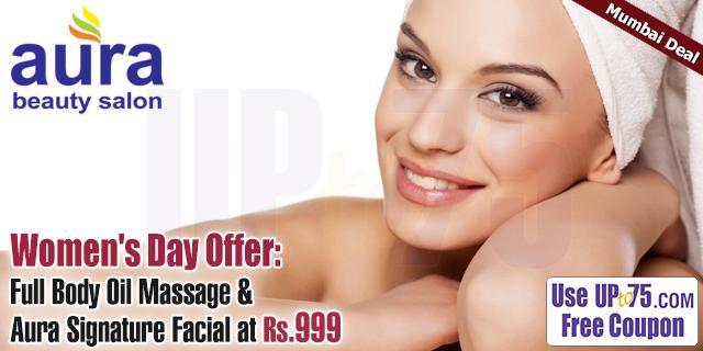 Aura Beauty Salon offers India