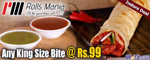 Rolls Mania offers India