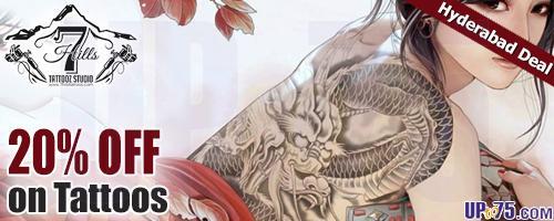 7 Hills Tattooz offers India