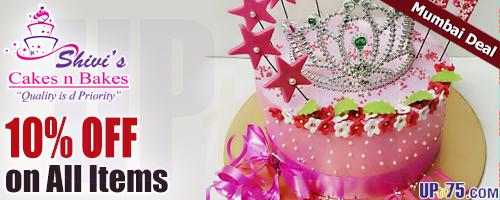 Shivis Cakes n Bakes offers India