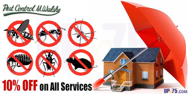 Pest Control M Walshe offers India