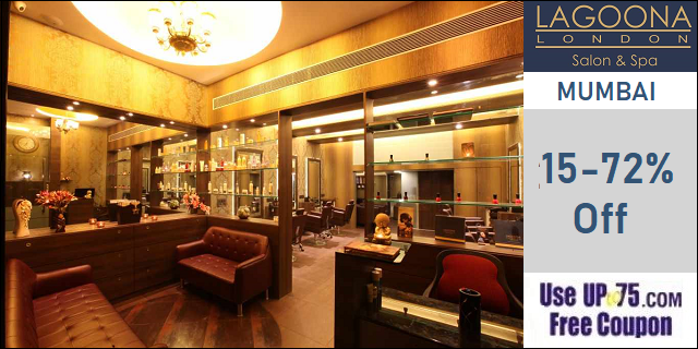 Lagoona London Salon and Spa offers India