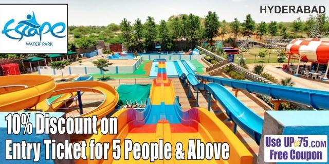 Escape Water Park offers India