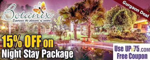 Botanix Nature Resort offers India