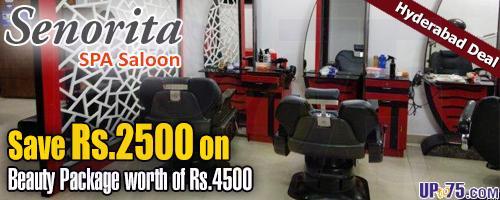 Senorita Spa Saloon offers India