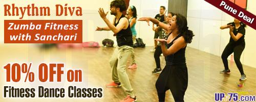 Rhythm Diva - Zumba Fitness with Sanchari offers India