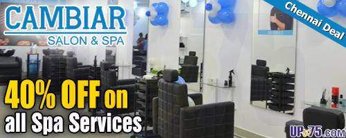 Cambiar Salon and Spa offers India