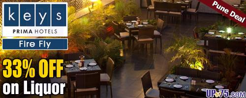 Fire Fly at Keys Prima Hotel Parc Estique Pune offers India