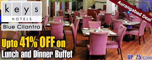 Blue Cilantro at Keys Hotel Aures Aurangabad offers India