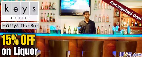 Harrys The Bar at Keys Hotel Aures offers India