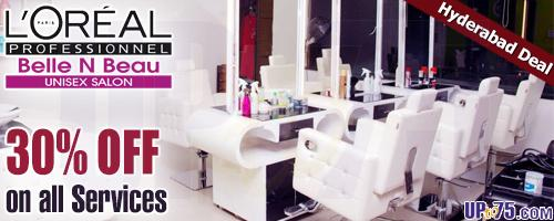 Loreal Professional Belle N Beau Unisex Salon offers India