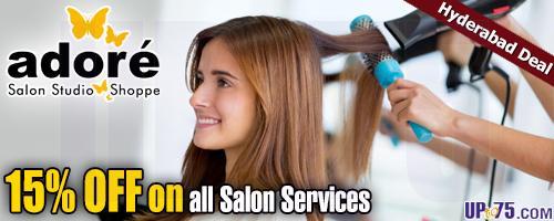 Adore Salon Studio offers India