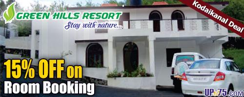 Green Hills Resort offers India