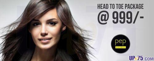 Pep Salons offers India