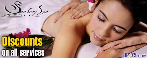 Saboey Spa offers India